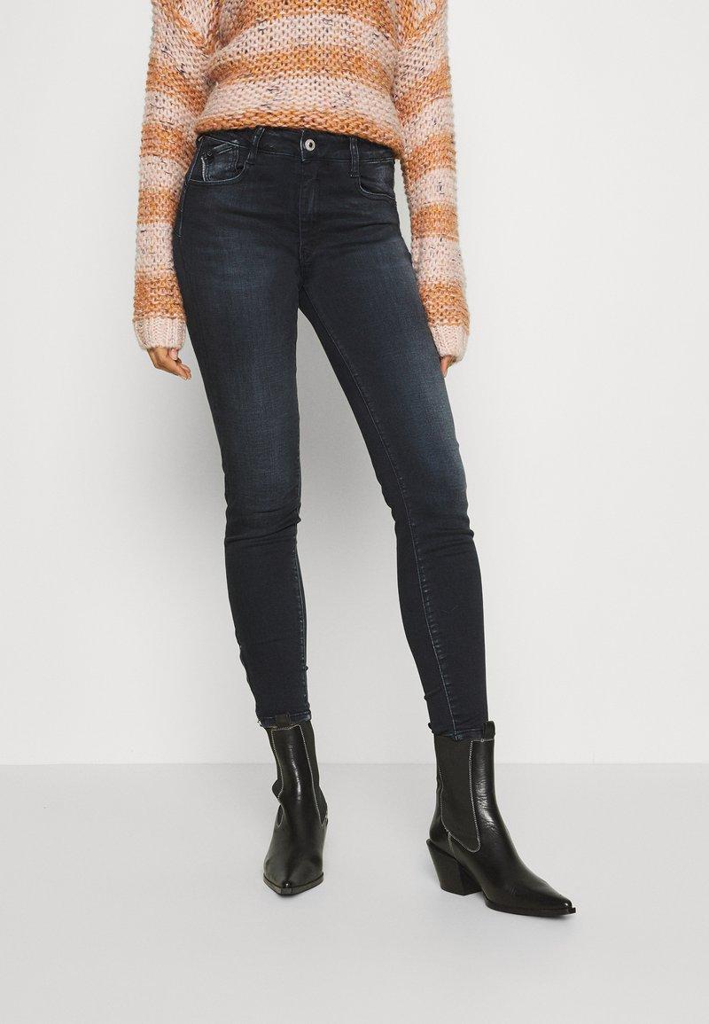Le Temps Des Cerises - Slim fit jeans - black/blue