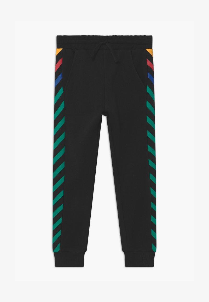 Benetton - EUROPE BOY - Spodnie treningowe - black
