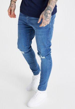 Skinny džíny - midstone