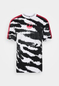 adidas Originals - ZEBRA - T-shirts med print - white - 0