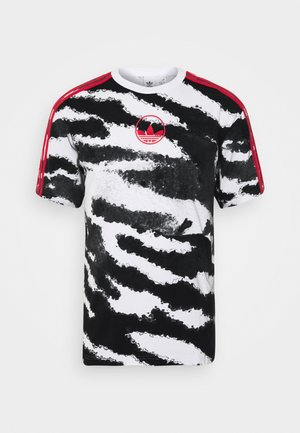 ZEBRA - Camiseta estampada - white