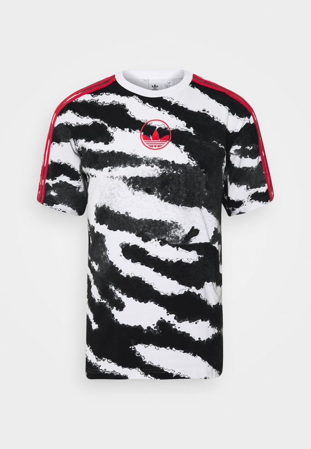 ZEBRA - T-shirt imprimé - white
