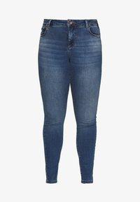 Zizzi - JPOSH NILLE SLIM - Jeans Skinny Fit - blue denim - 4