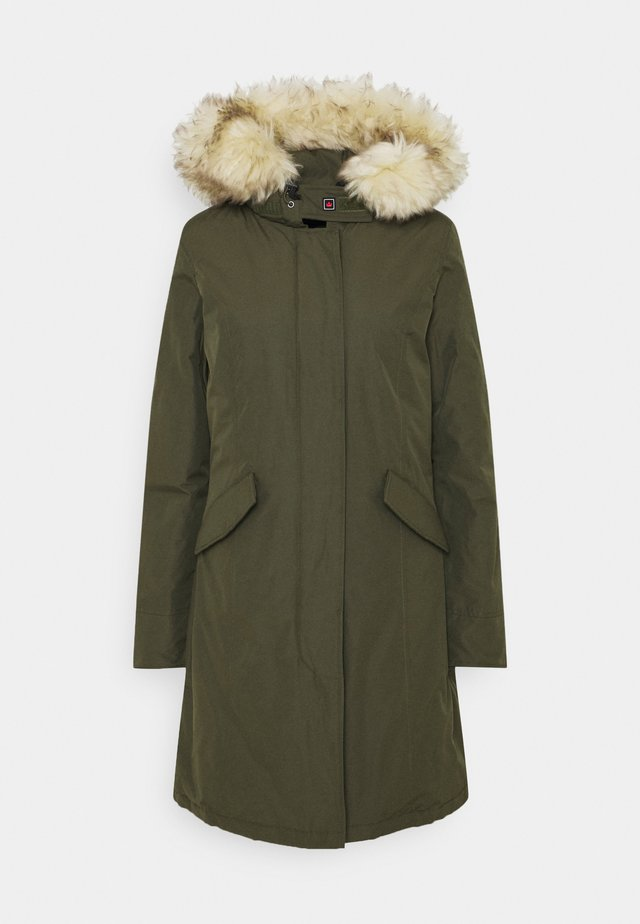 FUNDY BAY LONG  - Down coat - army