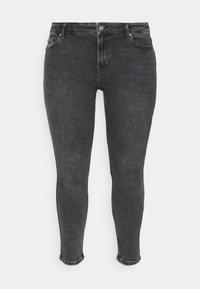 Pieces Curve - PCLILI  - Jeans slim fit - medium-grey denim - 4