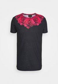 SIKSILK - ROSE TEE - Print T-shirt - black - 3