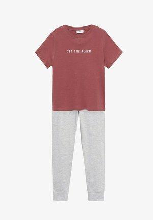 Pyjamas - kersenrood