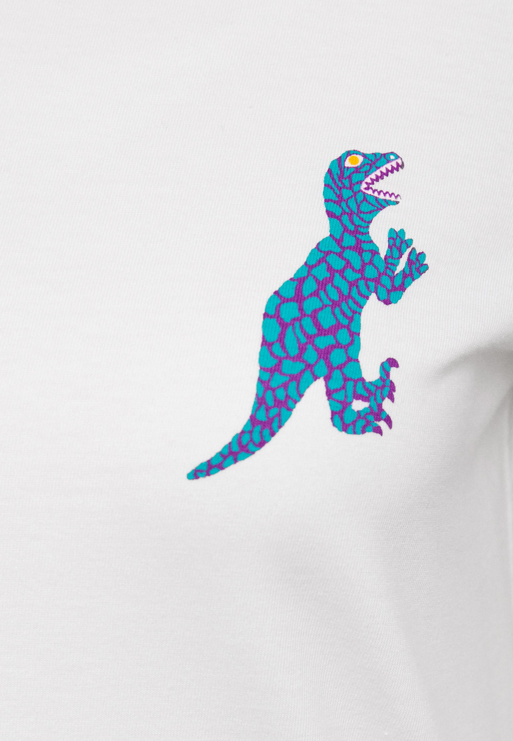 Online Cheapest Women's Clothing PS Paul Smith Print T-shirt white FEAqzbHpO