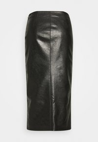 Pinko - NEBBIA SKIRT - Pencil skirt - nero limousine - 1