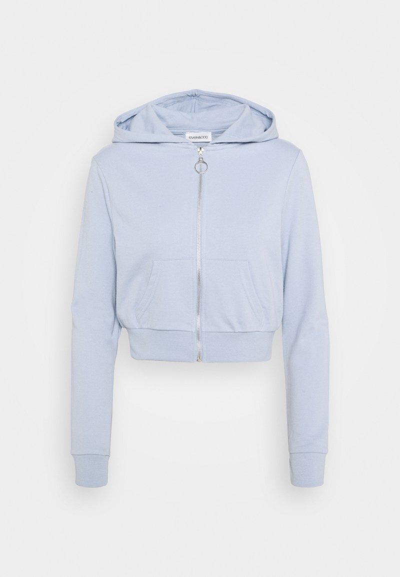 Even&Odd - Zip-up hoodie - blue