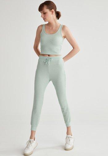 Pantaloni sportivi - turquoise