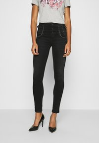 Liu Jo Jeans - RAMPY - Jeans slim fit - black denim - 0