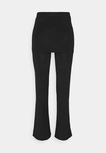 PANTS SKIRT - Tracksuit bottoms - black