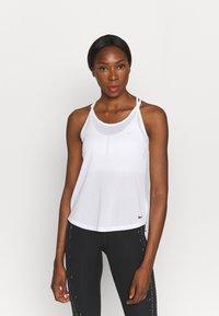 Nike Performance - ONE BREATHE TANK - Top - white/black - 0