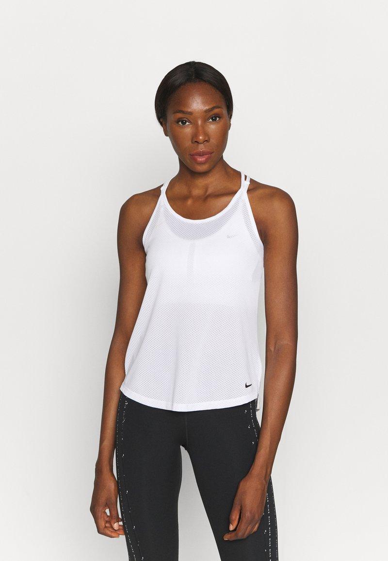 Nike Performance - ONE BREATHE TANK - Top - white/black