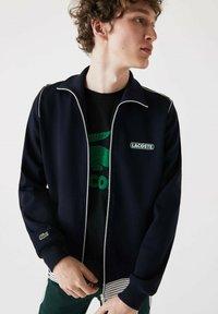 Lacoste - Zip-up hoodie - bleu marine - 0