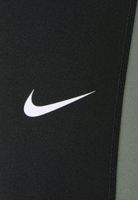 Nike Performance - Leggings - black/sail/iron grey - 4