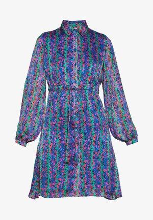 FRIEDA SHORT DRESS - Day dress - blue/pink/green