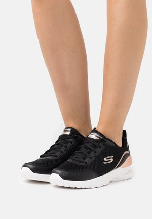 SKECH AIR DYNAMIGHT - Sneakers basse - black/rose gold