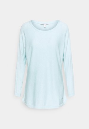 Strickpullover - light turquoise