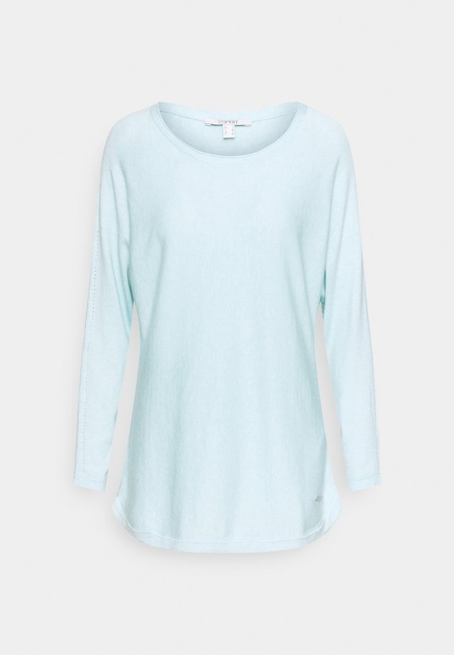 Sweter - light turquoise