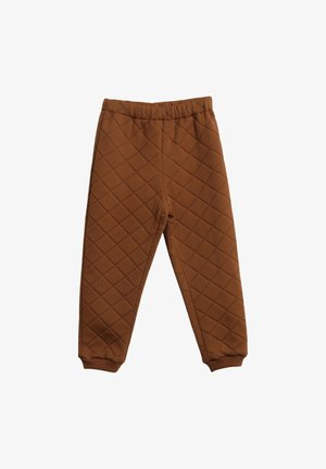 THERMO - Trousers - nutella