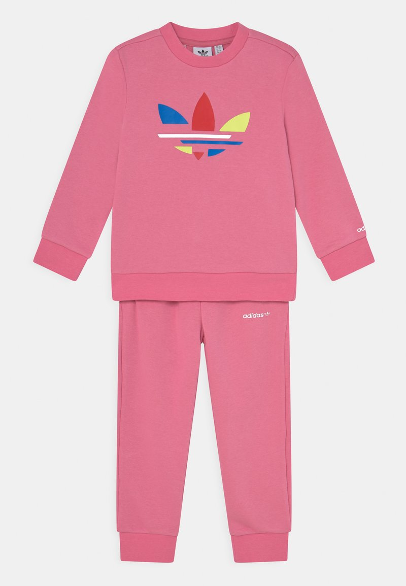 adidas Originals - CREW SET UNISEX - Survêtement - rose tone
