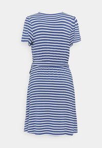 GAP - WRAP DRESS - Jersey dress - blue combo - 1