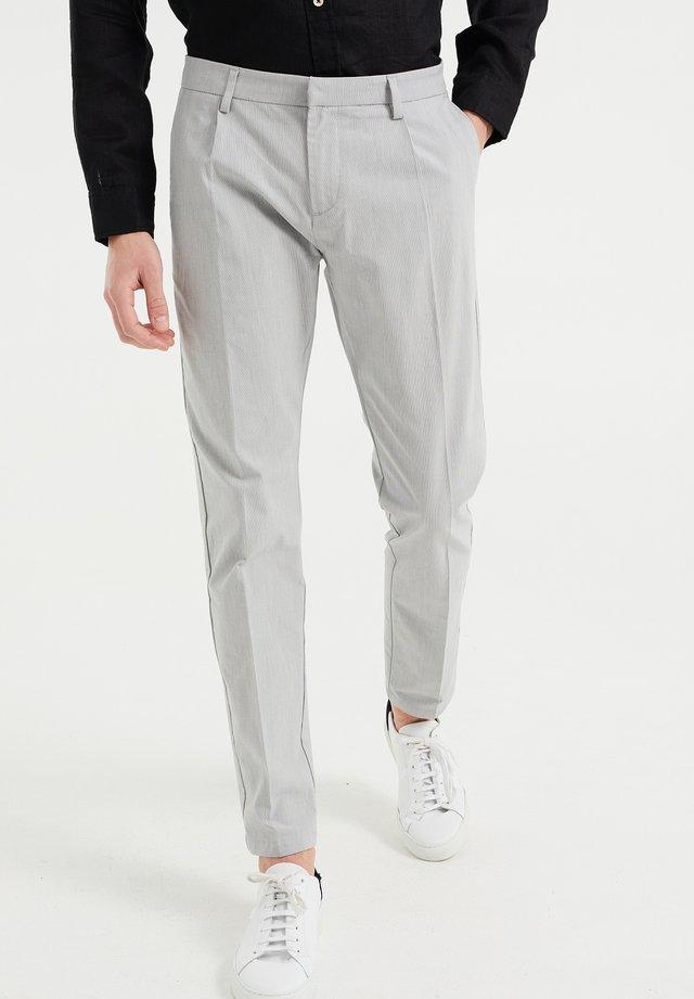Pantalones chinos - grey