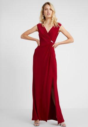 THOMPSON TRIM - Maxi dress - vibrant garnet