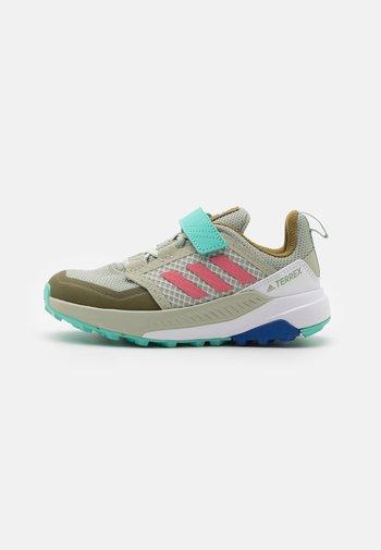 TERREX TRAILMAKER - Hiking shoes - halo green/hazy rose/acid mint