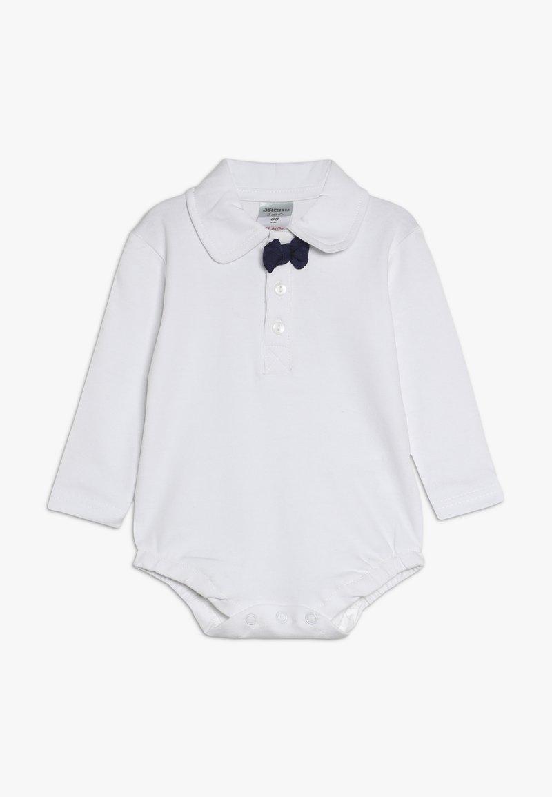 Jacky Baby - LANGARM SCHLEIFE BASIC BABY - Long sleeved top - white/navy