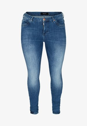 AMY  - Slim fit jeans - blue