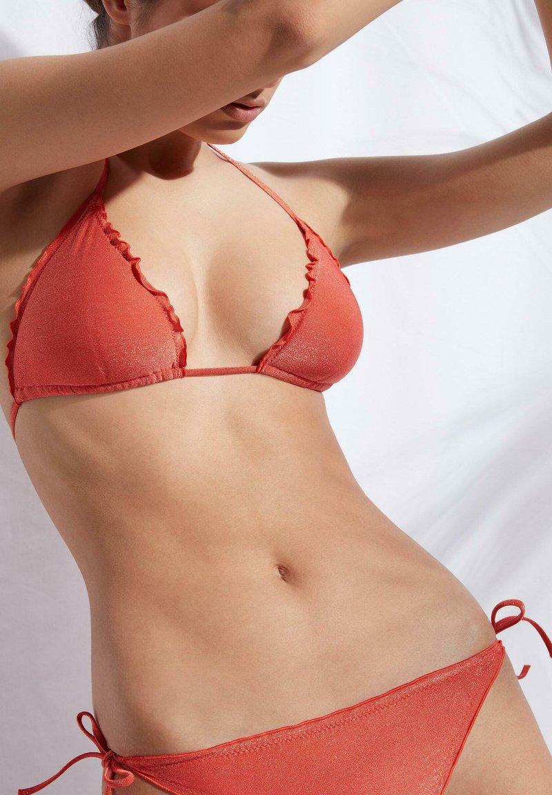 Calzedonia - Bikini top - samba orange shine