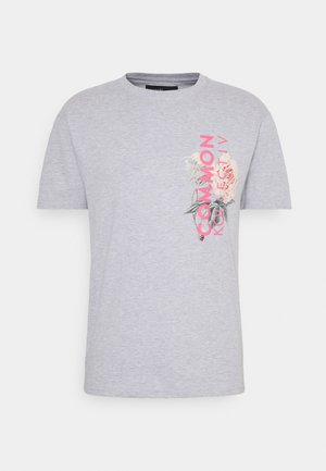 FLORAL UNISEX - T-shirt con stampa - grey marl