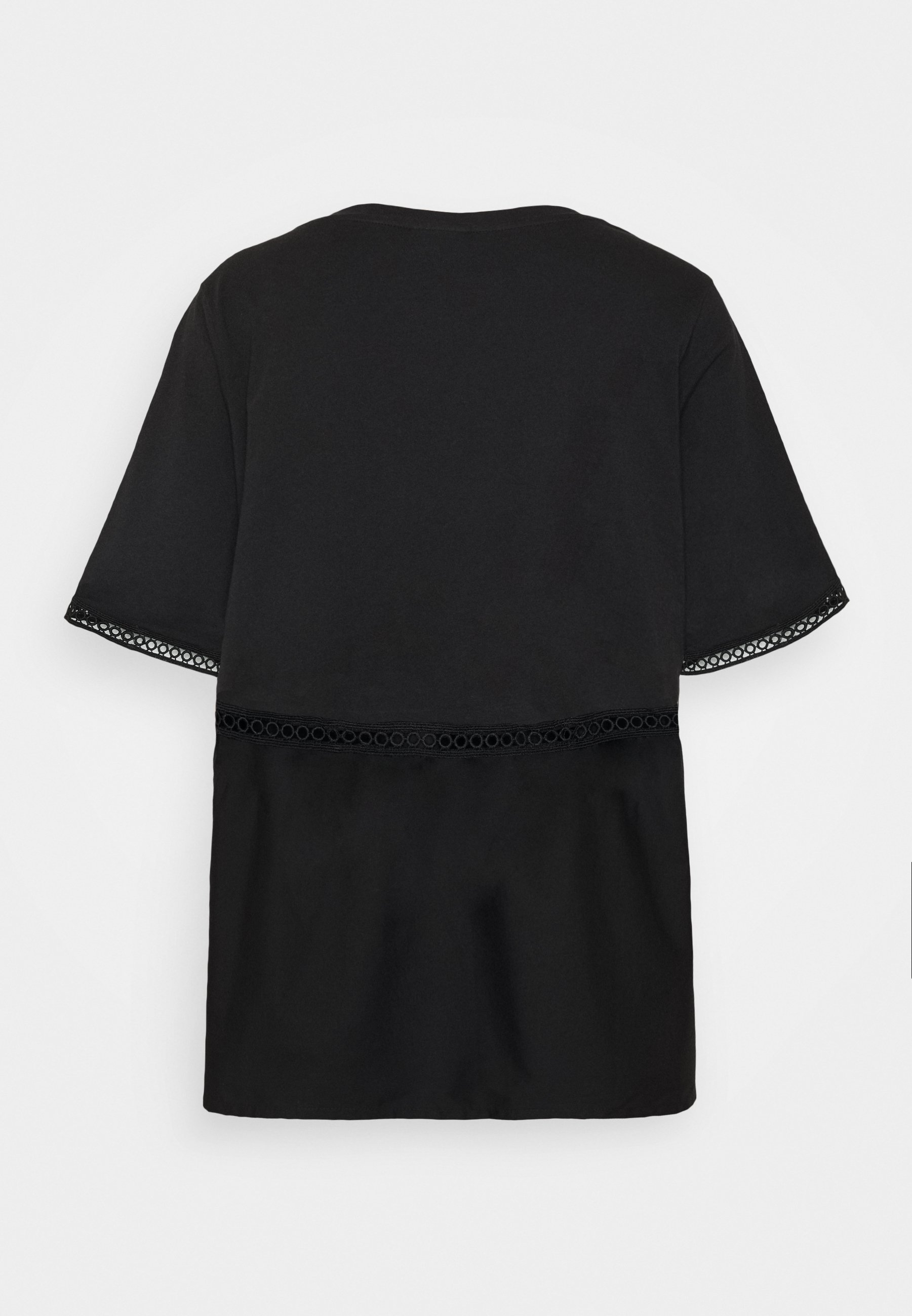 Noisy May Nmteria Loose Top - T-shirts Black/svart