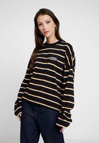 Ragged Jeans - PRAISE - T-shirt à manches longues - black and multi - 0