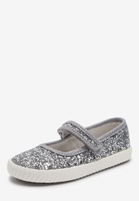 Next - SILVER GLITTER MARY JANE PUMPS (YOUNGER) - Baleriny z zapięciem - silver