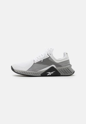 FLASHFILM TRAIN - Sportschoenen - white/black/silver metallic