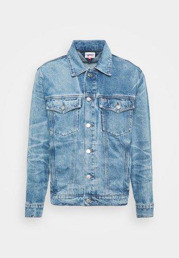 TRUCKER UNISEX - Kurtka jeansowa - blue denim