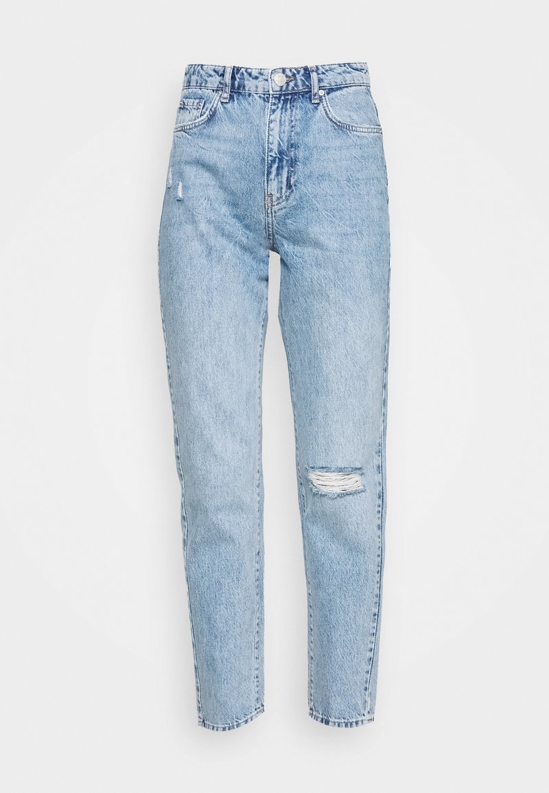 Gina Tricot DAGNY HIGHWAIST - Jeans Relaxed Fit - blue/blue denim f24AKo