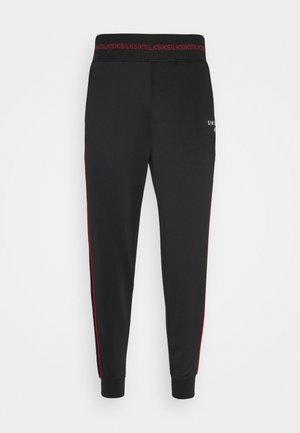 IMPERIAL CUFFED  - Tracksuit bottoms - black