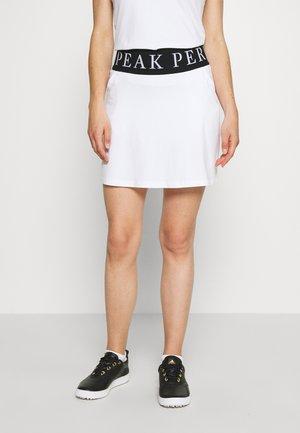 TURF SKIRT - Sportovní sukně - white