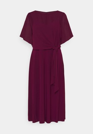 MID WEIGHT DRESS COMBO - Vestito elegante - exotic ruby