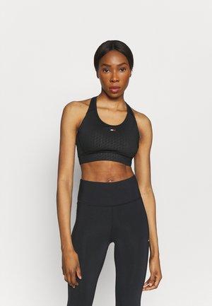 RACER BRA - Sports bra - black