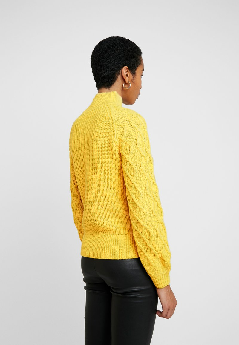 Dorothy Perkins - CABLE JUMPER - Trui - Yellow