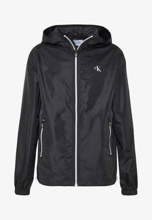 ZIP THROUGH HD JACKET - Summer jacket - black