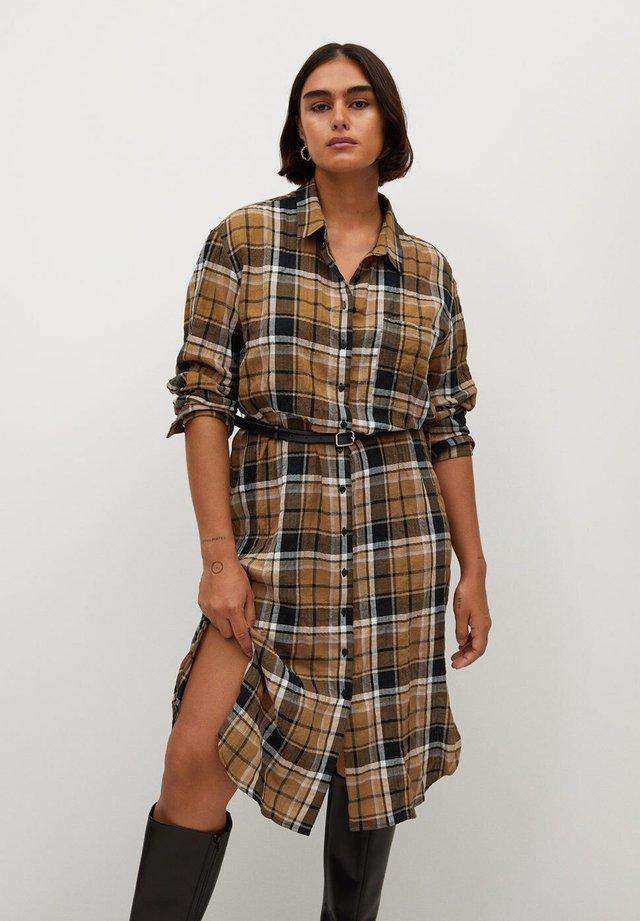 MIA - Shirt dress - karamel