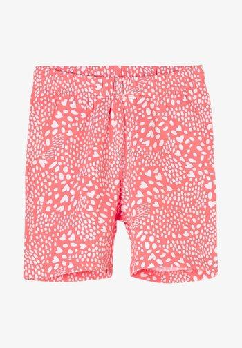 MIT HERZCHEN - Shorts - light pink aop