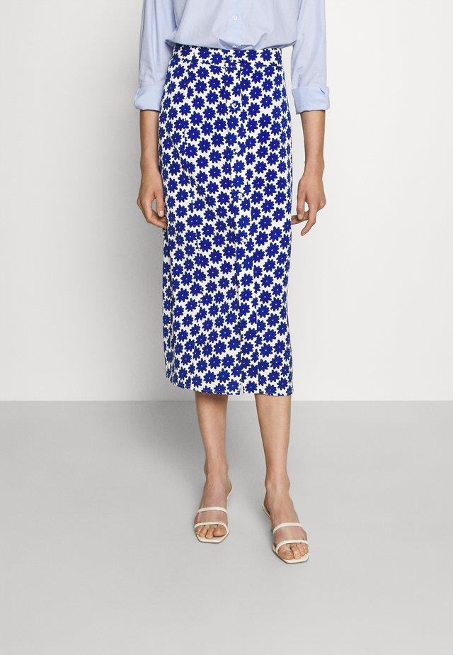 CALANDRA SKIRT - Pencil skirt - true blue